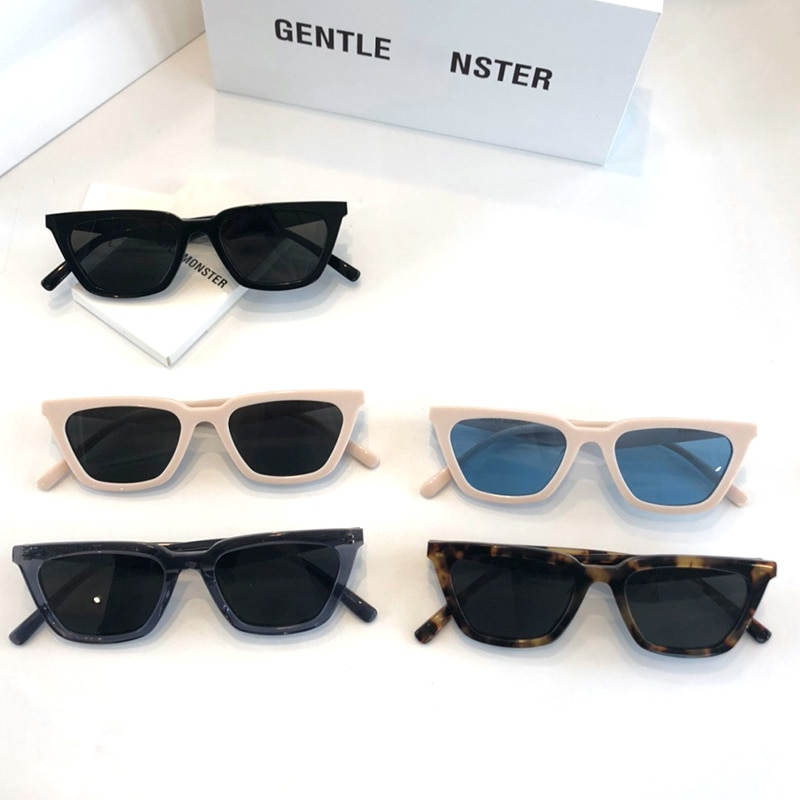 2021 GM Sunglass small face For women Sunglasses GENTLE AGAIL Acetate Polarized UV400 square women Sunglasses With original box