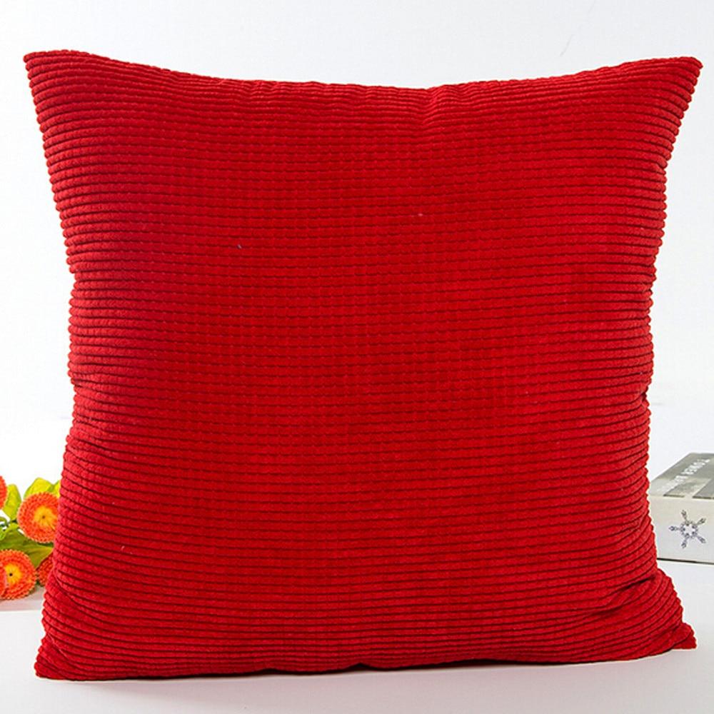 Corn kernel cushion cover soft Corduroy Pillow Case Sofa Waist Throw Cushion Cover high quality solid Home Decor pillow cover