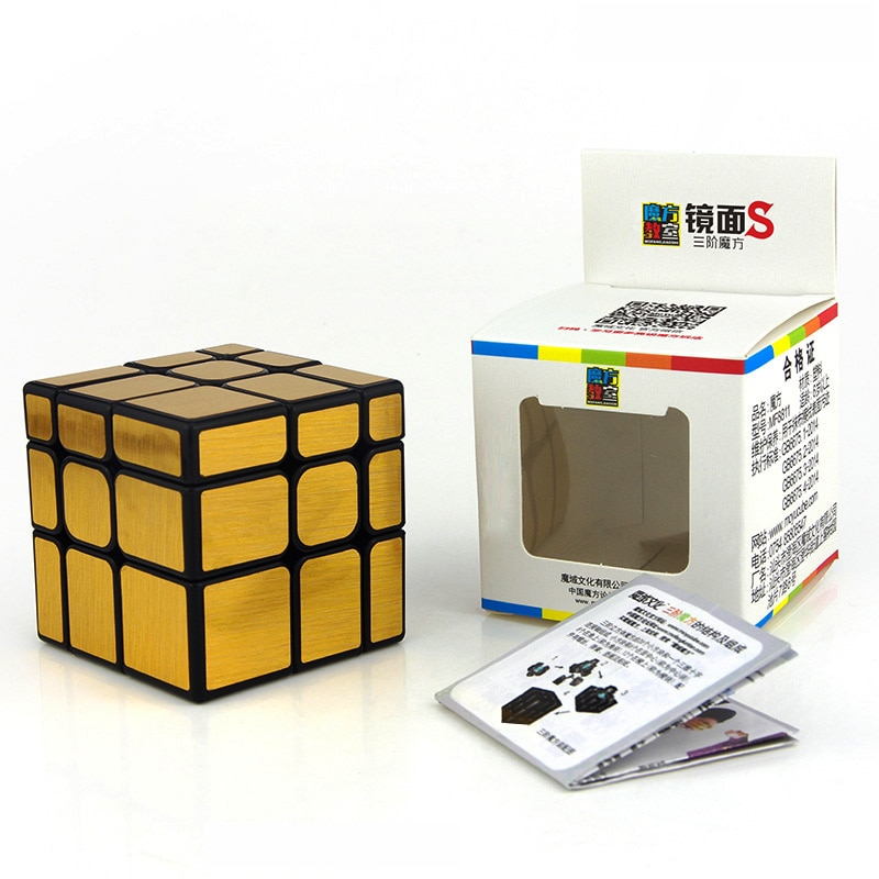 mf8 dodecahedron redbud magic cube bauhinia twisty puzzle speed rubiks cube educational toys gifts for kids children Moyu Mirror Cube 3x3 Magic Cube 3x3x3 Speed Cube Puzzle Educational Toys For Children Silver/Golden Mirror Blocks Gifts