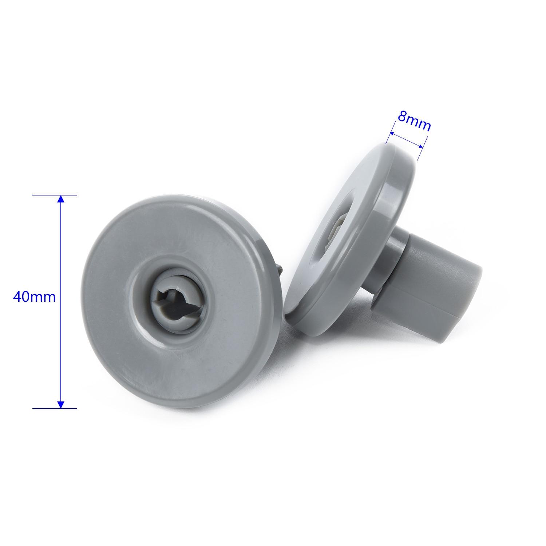 4 X Kit de rueda de cesta inferior para AEG Favorit Electrolux Kit de progreso