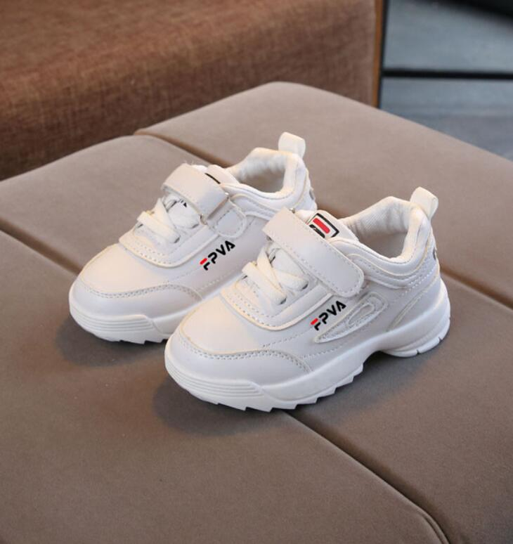 2020 New Pure Color Children Shoes Fashion Simple Flat Boys Girls Kids Casual Shoes Light Breathable