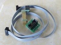 For MCU memory online burn read download program firmware spring pin connector