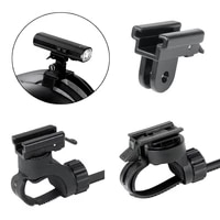 bike head light holder adaptor bicycle front lamp bracket clip wire controlled front light handlebar stand clamp for gaciron