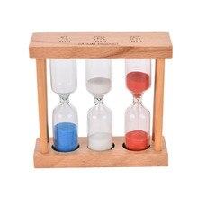 Sanduhr Sanduhren Uhr Home Decor Holz Rahmen Sand Glas Holz Rahmen Sand Glas
