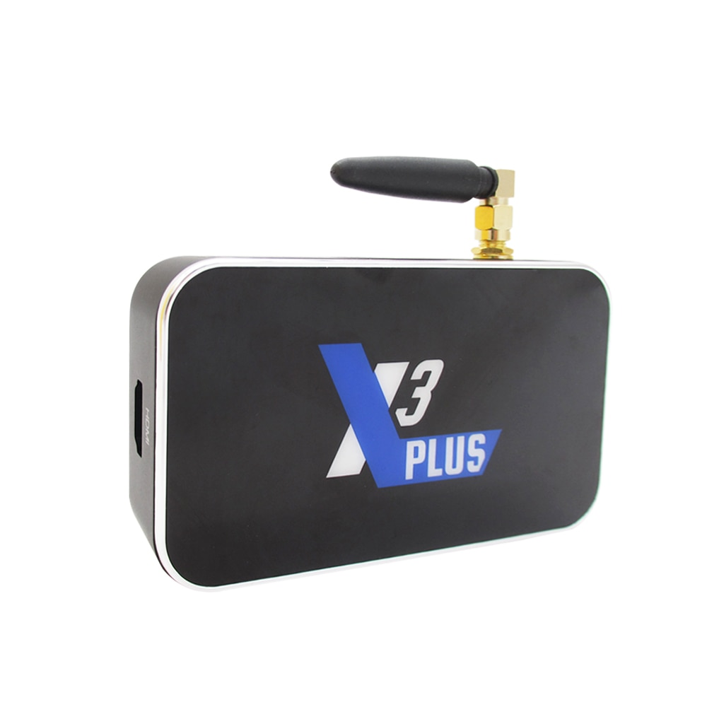 TV BOX X3 PRO, Android 9,0, Amlogic S905X3, decodificador de señal con cubo X3, 4GB de RAM, 64GB de ROM, wi-fi 2,4 GHz/5 GHz, 1000M, reproductor multimedia 4K X3 PLUS