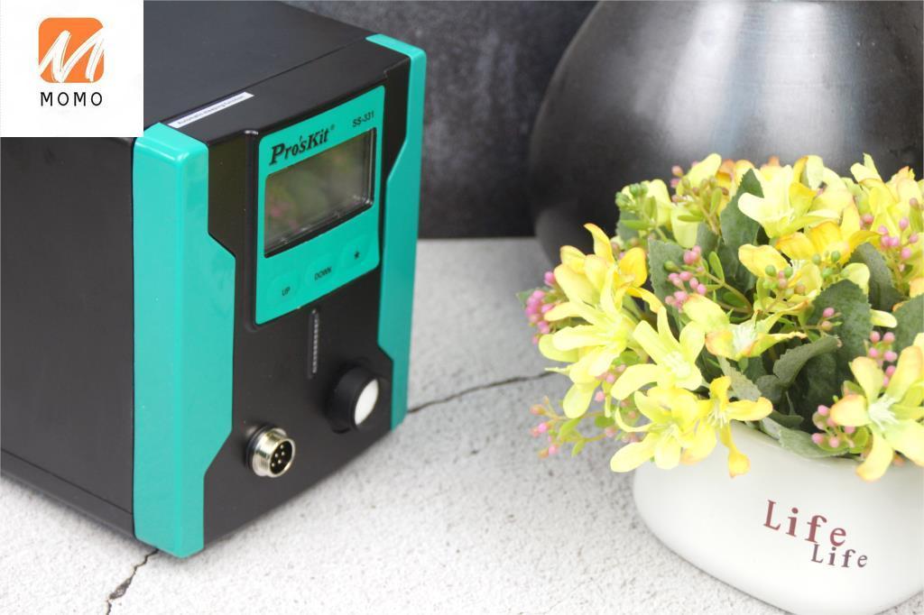 331h LCD Digital Electric Desoldering Pump Suitable for BGA Desoldering Suction Vacuum Desoldering Gun Automatic Sleep enlarge