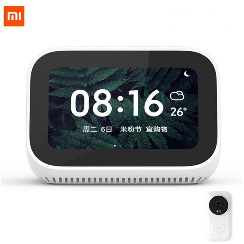 Xiaomi – haut-parleur avec écran tactile, haut-parleur AI, Bluetooth 5.0, affichage numérique, alarme, WiFi, connexion intelligente, Mi