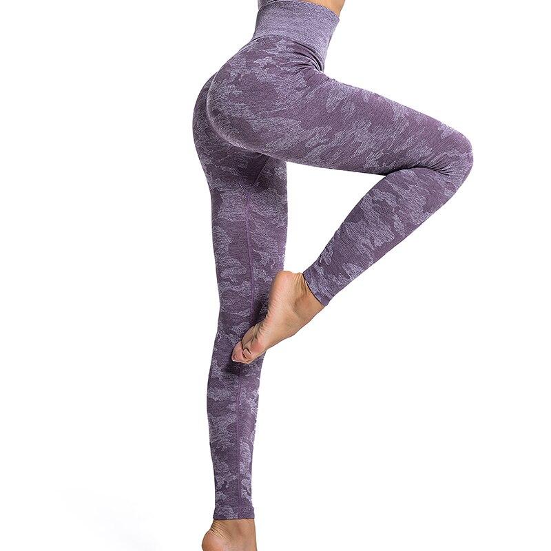 Mulheres camo sem costura leggings push up cintura alta calças de yoga leggings esporte fitness booty gym controle de barriga correndo calças