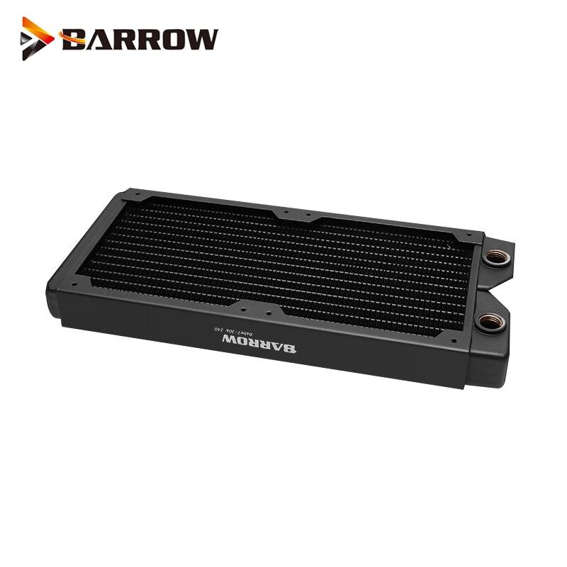 Barrow 240mm 120x2mm Copper radiator 12cm fan thin heatsink Chassis heat dissipation Dabel-30a 240