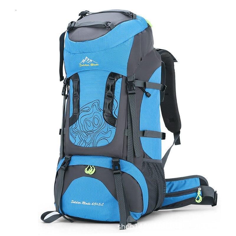 70 уличный рюкзак для кемпинга, мужские и женские сумки для путешествий и скалолазания, нейлоновый водонепроницаемый походный рюкзак, рюкзак, рюкзак