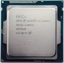 Intel Xeon E3-1246 v3 8M Cache 3,5 GHz SR1QZ LGA1150 E3 1246 v3 procesador de CPU