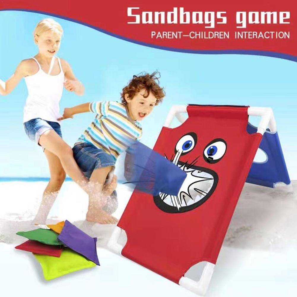 Забавные мешки для игр, безопасные мешки для бросания песка, мешки для игры для взрослых, детские игрушки для игр на открытом воздухе, вечеве...