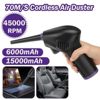 45000rpm cordless air duster for computer keyboard camera car cleaning compressed air blower rechargeable electronic cleaner