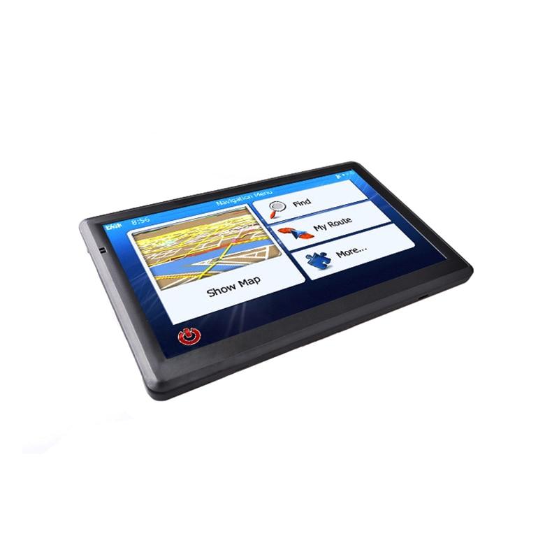 7inch 8GB Navigator Set Car Truck HGV GPS Navigation Maps Car GPS Navigator HD Traffic Alarm Truck Navigation Hi-Fi FM