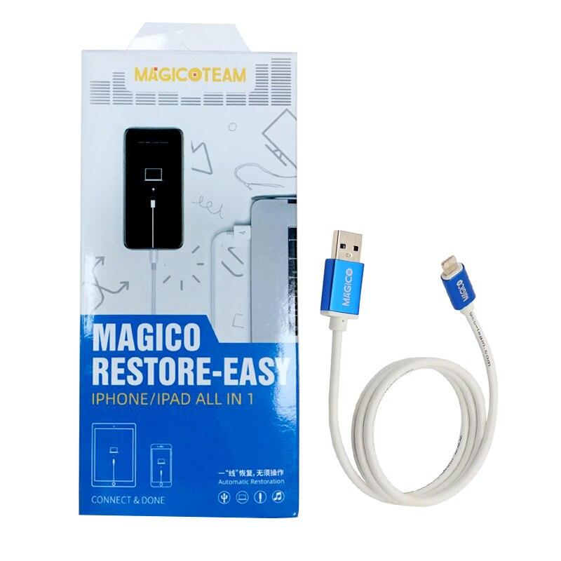 Restauración Magico Cable fácil para teléfono móvil DFU parpadeante automáticamente para restablecer el número de serie