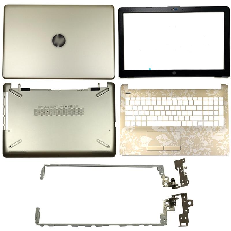 924893-001 Laptop LCD Back Cover/Front bezel/Hinges/Palmrest/Bottom Case For HP 15-BS 15T-BS 15-BW 15Z-BW 250 G6 255 G6 Gold new for hp 15 bs 15 br 15 bw 15t br 15 bs 15z bw laptop lcd back cover front bezel hinges palmrest bottom case 924899 001