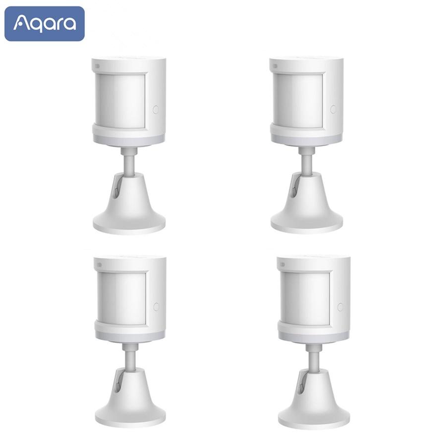 Aqara Human Body Sensor Light Intensity motion Sensors ZigBee wifi Wireless for Xiaomi mijia smart home Mi home APP