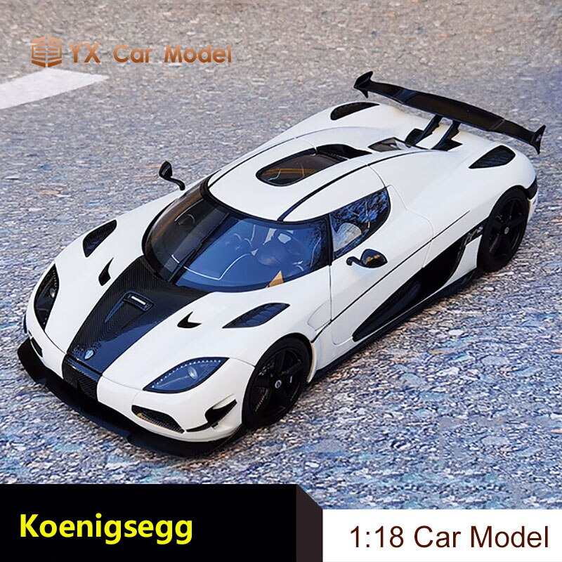 AA 118 KOENIGSEGG Agera RS supercar коллекция моделей автомобилей