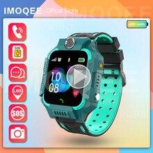 smart watch kids gps for Children SOS Call Phone Watch Smartwatch use Sim Card Photo Waterproof IP67