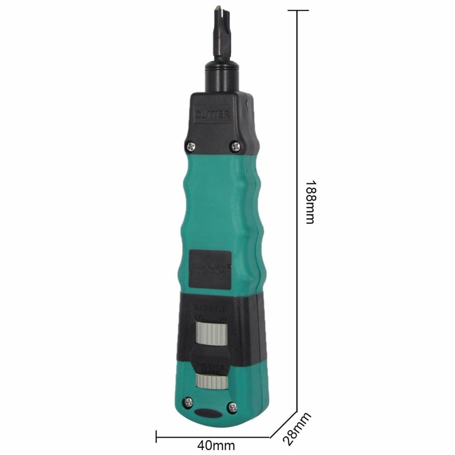 عملي CP-3148 تأثير و أداة توصيل وفصل مع 110/88 & 66 شفرة سلك العقص كماشة أدوات تجعيد الكهربائية