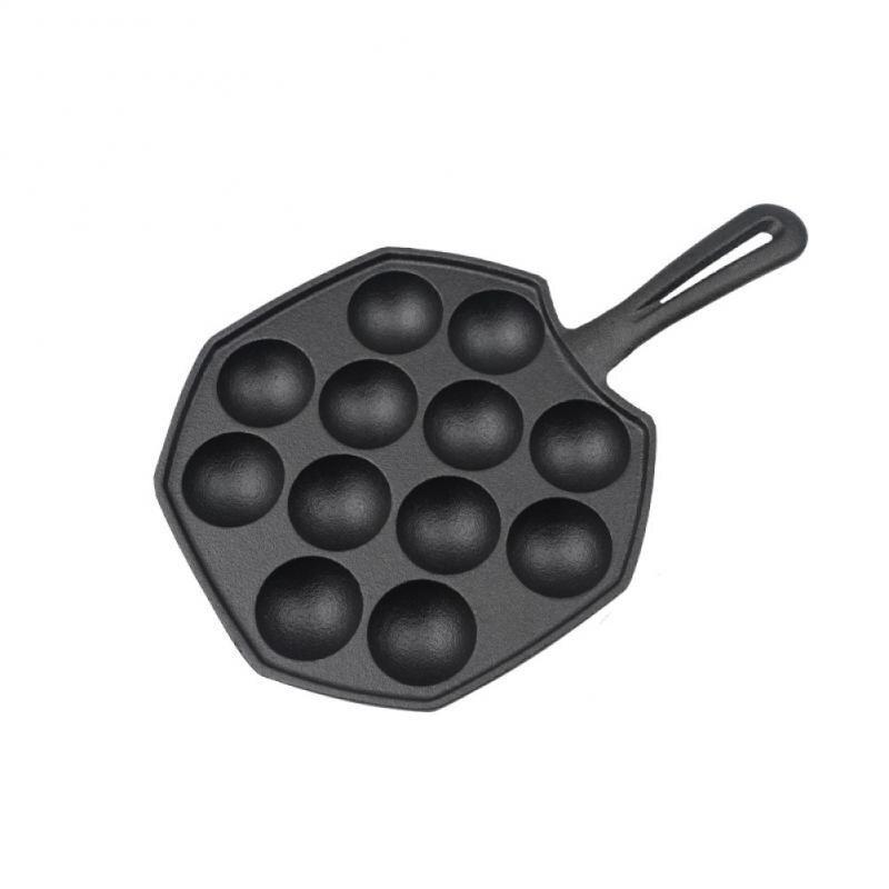 Holaroom 12 تجاويف تاكوياكي عموم تاكوياكي صانع الأخطبوط كرات صغيرة مقلاة خبز أدوات الطبخ المنزلية أدوات المطبخ لوازم