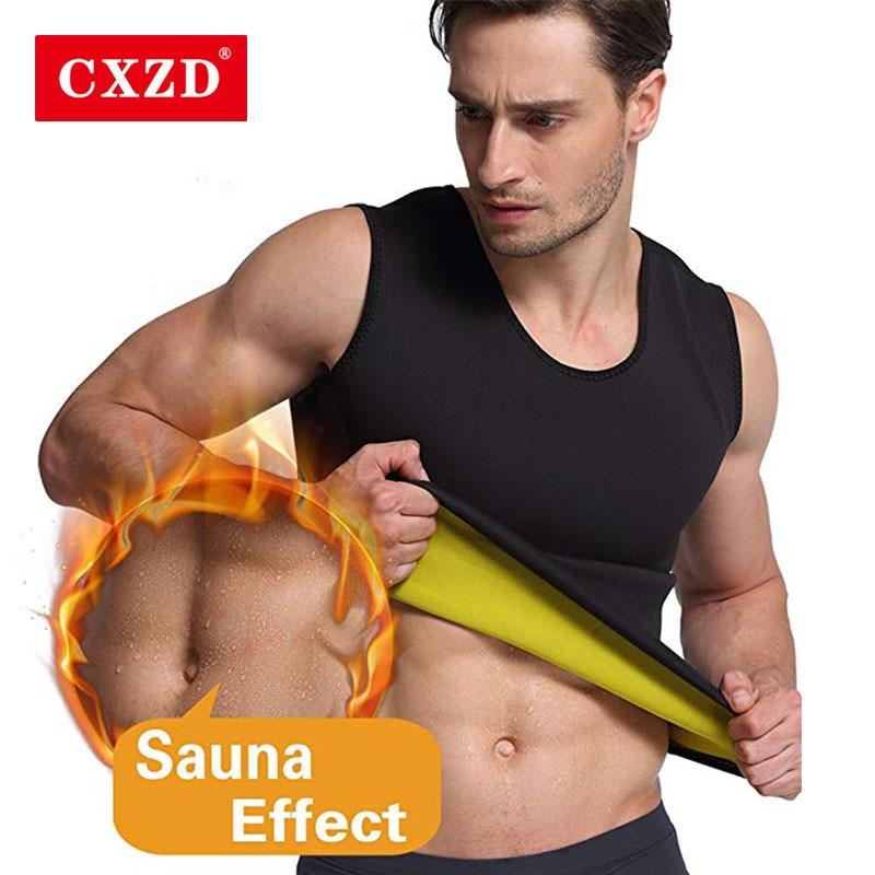 CXZD Männer Abnehmen Weste Körperformer Neopren Bauch Brennen Fett Shapewear Schweiß Taille Korsett Super Stretch Shapewear