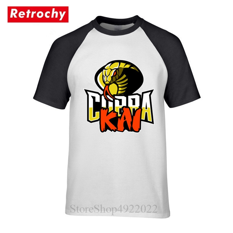 ¡Novedad de 2019! Camiseta Cobra Kai para hombre, camiseta de Karate para niños, bonita camiseta negra de Mamba, disfraz de moda para Cosplay, camiseta Kobe Bryant