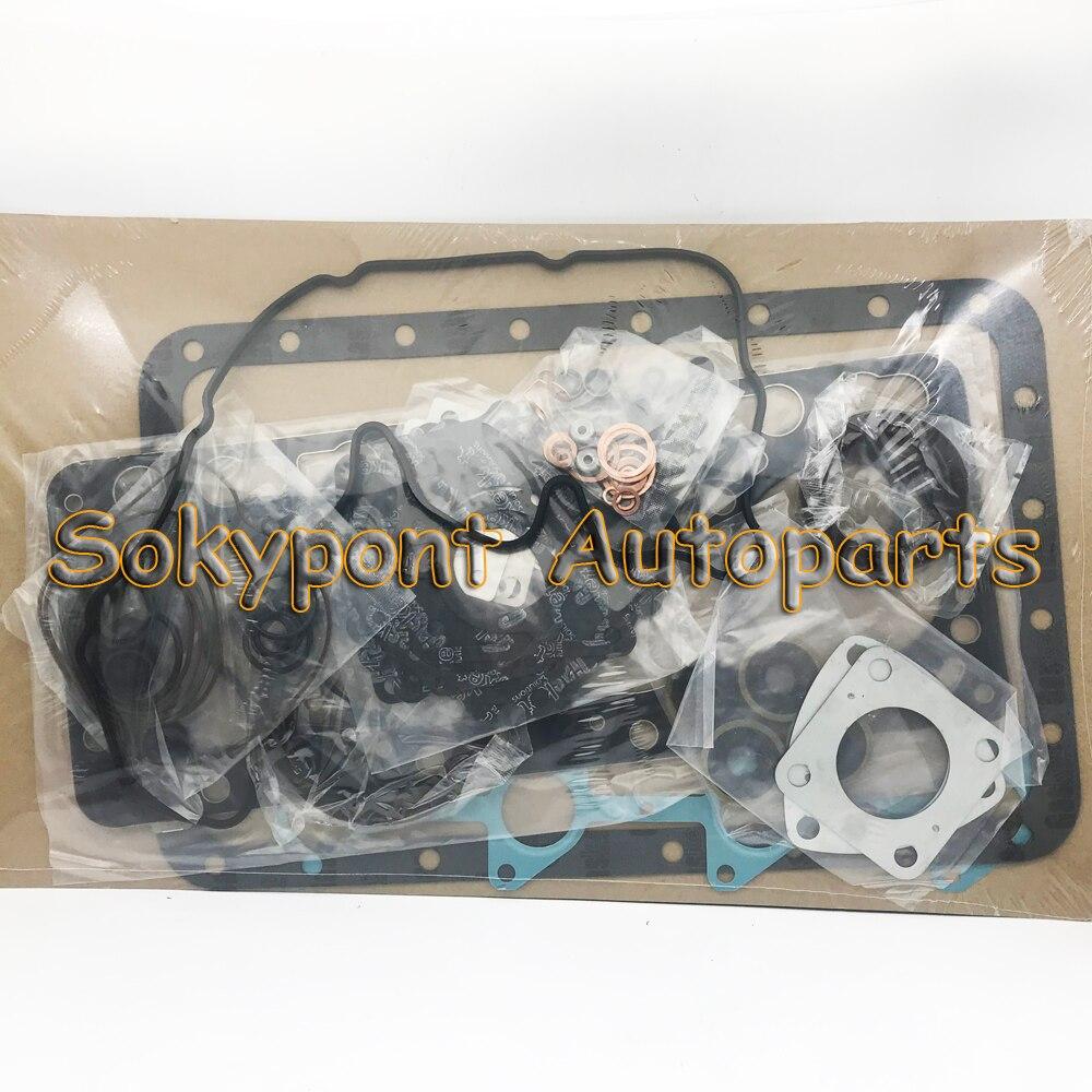 Para Kobelco SK120 SK200 excavadora 6D31 6D31T kit de junta completa + junta de culata 1 pieza