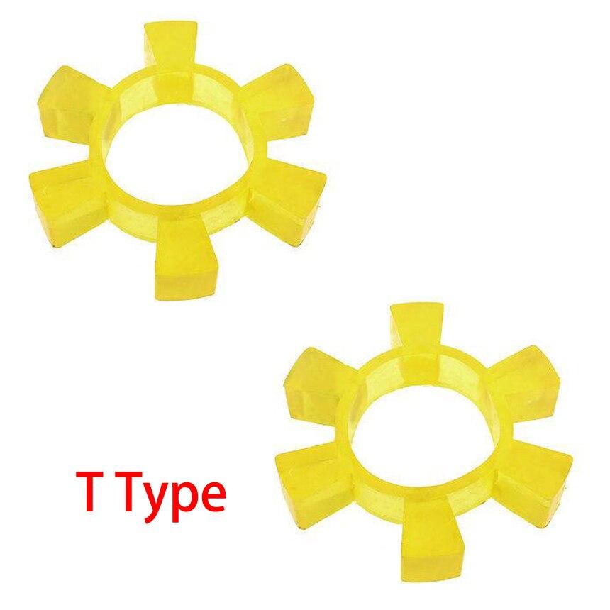T100 t105 t108 t110 100mm 105mm 108mm 110mm od poliuretano plutônio junta elástica flexível aranha mandíbula acoplamento amortecedor amortecedor amortecedor amortecedor amortecedor