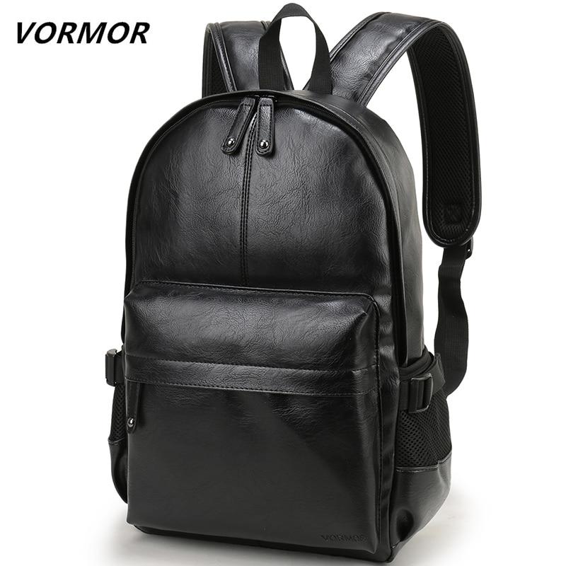 남성 배낭 가죽 학교 배낭 가방 패션 방수 여행 가방 캐주얼 가죽 책 가방
