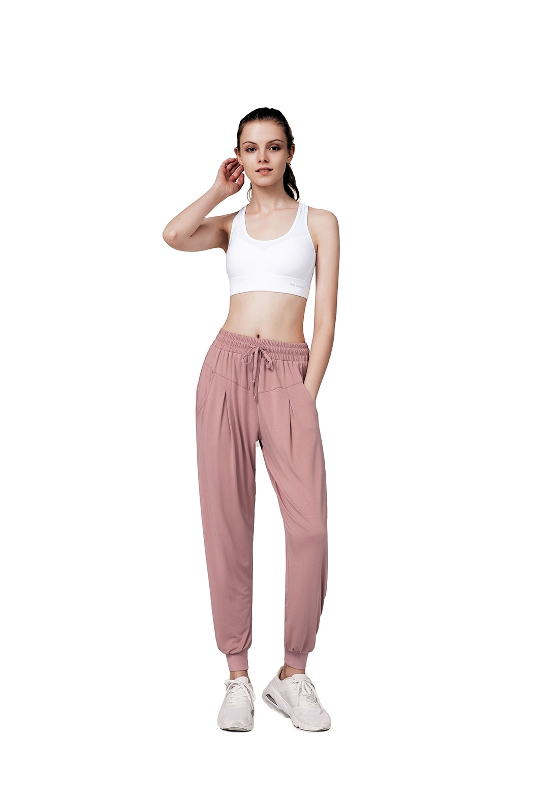 Sweatpants for Women with Pockets Yoga Athletic Workout Pants High Waist Joggers LightweightSweat