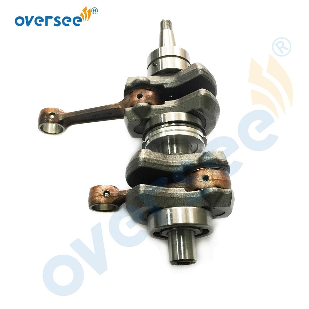 61N-11400-00, 69P-11400-00 Crankshaft Assy For Yamaha 25HP 30HP Outboard Motor 2 Stroke enlarge