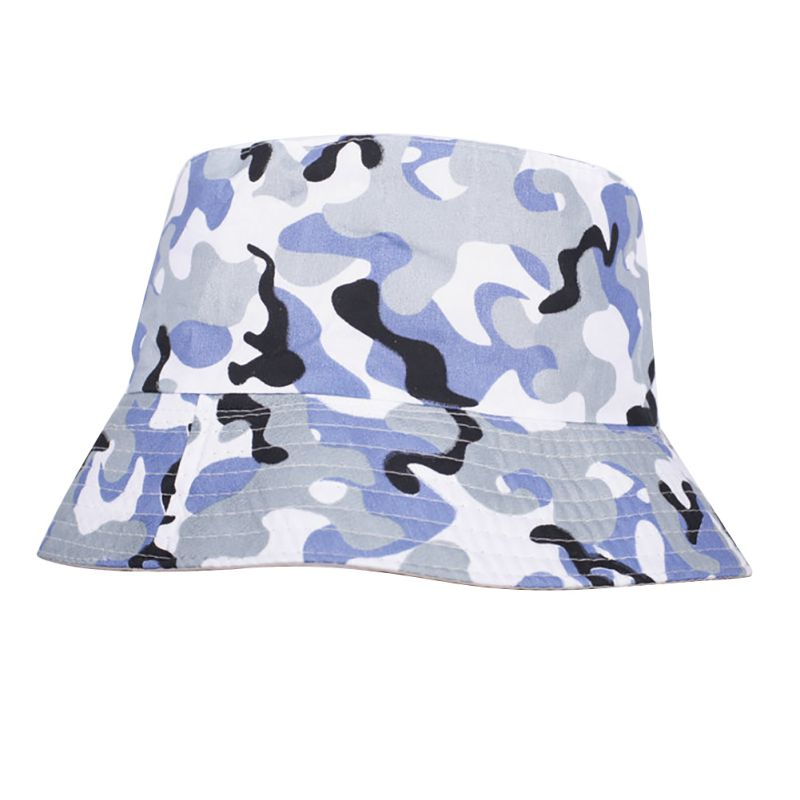 HotAdults Cotton Bucket Hat Summer Fishing Boonie Beach Festival Sun Cap Beach Hat CY1