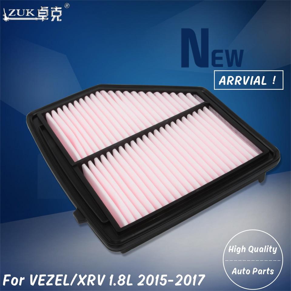 ZUK Brand New Air Filter Element For HONDA HRV VEZEL RU5 1.8L 2015 2016 2017 2018 2019 OEM:17220-51B-H00 227x216x48mm