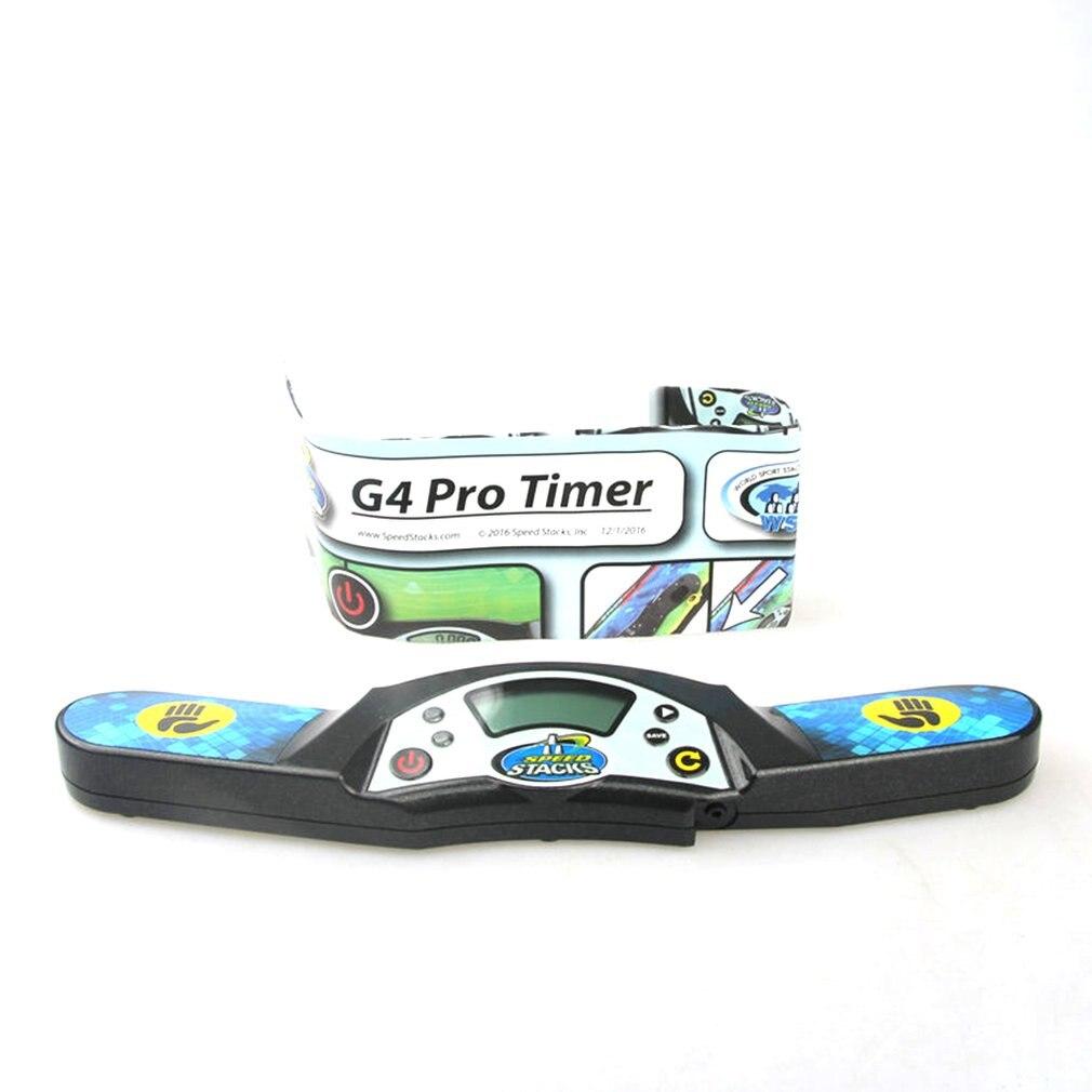G4 Pro-مؤقت أحجية احترافي ، آلة ساعة توقيت ، سرعة ، مكعب ، ملحق للمنافسة ، لعبة طائرة ، حصيرة حزمة