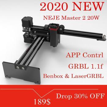 NEJE Master 2S – graveur et découpeur Laser de bureau, Machine à graver et à découper au Laser, imprimante Laser, routeur CNC, 20W