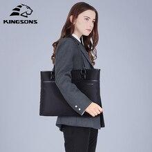 Kingsons  Shopping Handbag Large Decor Women Bag Black Nylon Luxury Women Bags Business Female Trend