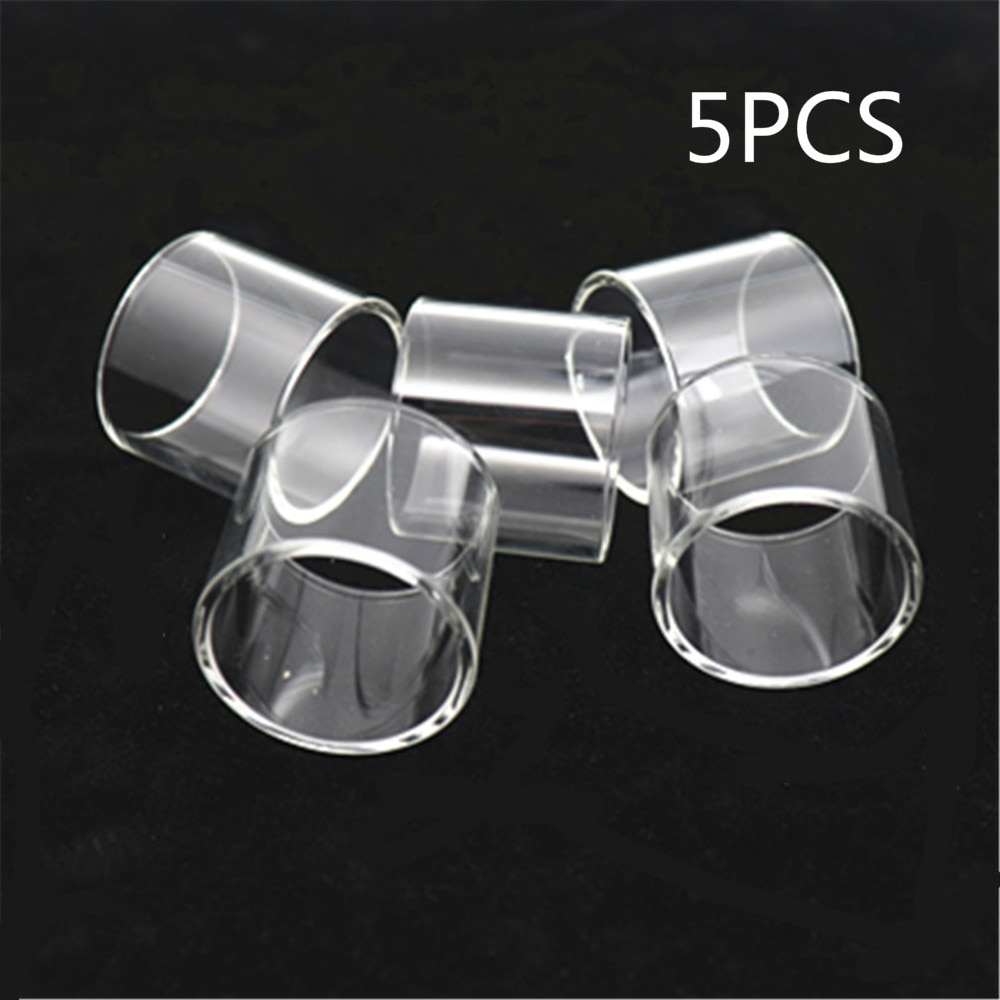 5pcs YUHETEC GLASS TUBE for HorizonTech Falcon King Mini II 2 pyrex glass tank for Resin version enlarge