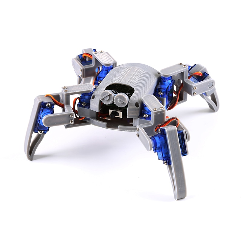 Bionic Quadruped Spider Robot Kit for Arduino,wifi diy, STEM Crawling Robot, ESP8266,NodeMCU,Arduino robot kit
