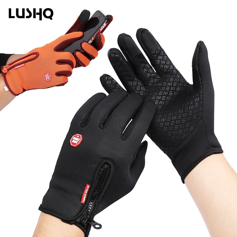 Luvas de couro para motociclismo, luvas guantes de couro para moto rbike e corrida gant atv