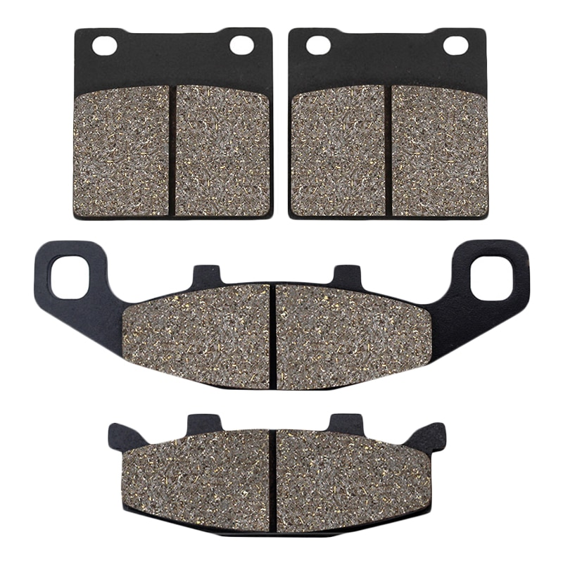 Motorcycle Front and Rear Brake Pads for SUZUKI GS 500 GS500 1989 1990 1991 1992 1993 1994 1995