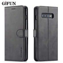 Leather Flip Cover For Samsung Galaxy S10 S8 S9 S6 S7 Edge A50 A30 A20 E A10 A70 A40 A6 J6 J4 A8 Plus A7 A9 2018 Phone Cases