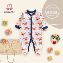 Clothes for newborn babies full moon clothes for boys going out in spring and autumn and air conditi
