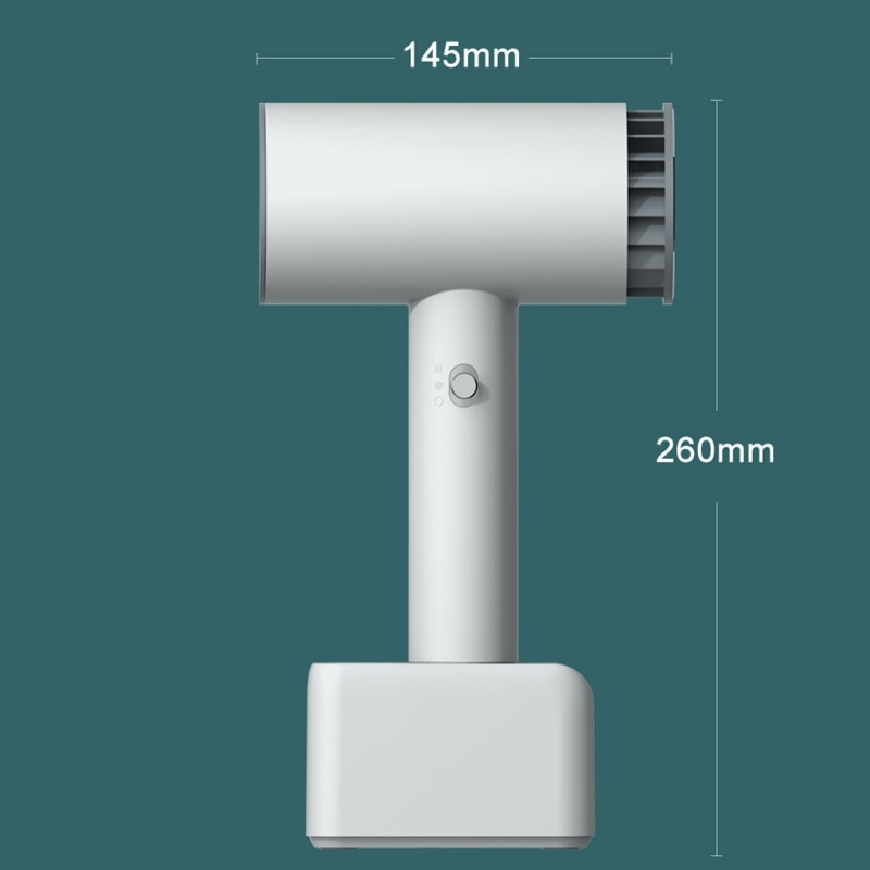 Cordless Rechargeable Hot and Cold Wind Hair Dryer Travel Wireless Blow Dryer for Art Painting Home Outdoor Camping enlarge