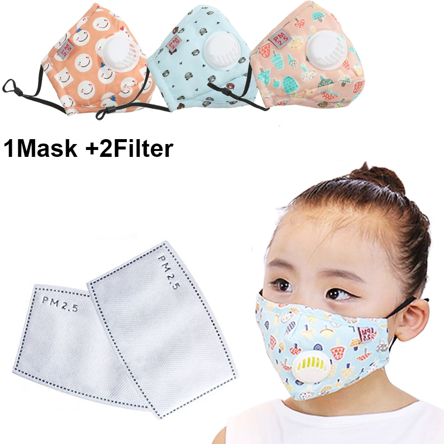 new n95 dust mask activated carbon double breathing valve protective masks dust mask masks second hand smoke 1Set Washable Children Masks Respirator Face Mask With Breathing Cap Cotton Activated Carbon Filter Anti Dust Mouth Masks