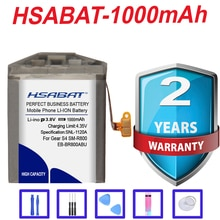 Top Brand 100% New 1000mAh EB-BR800ABU Battery for Samsung Gear S4 SM-R800 SM-R810 SM-R805 in stock