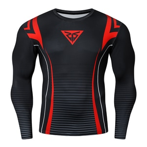 Dry Fit Compression Shirt Men Fitness Long Sleeves Running Shirts Men Gym T Shirt Jogging Sportswear Sport Tight Clothing Top