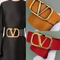 designer belts style 7cm 4cm width women leather belts waistband women casual jeans fashion tide high quality belts brand belts