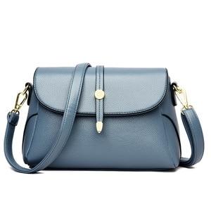 New Soft Leather Small Bag Ladies Women's Genuine Leather Handbags Casual Shoulder Bags For Women Messenger Bags Bolsas Feminina