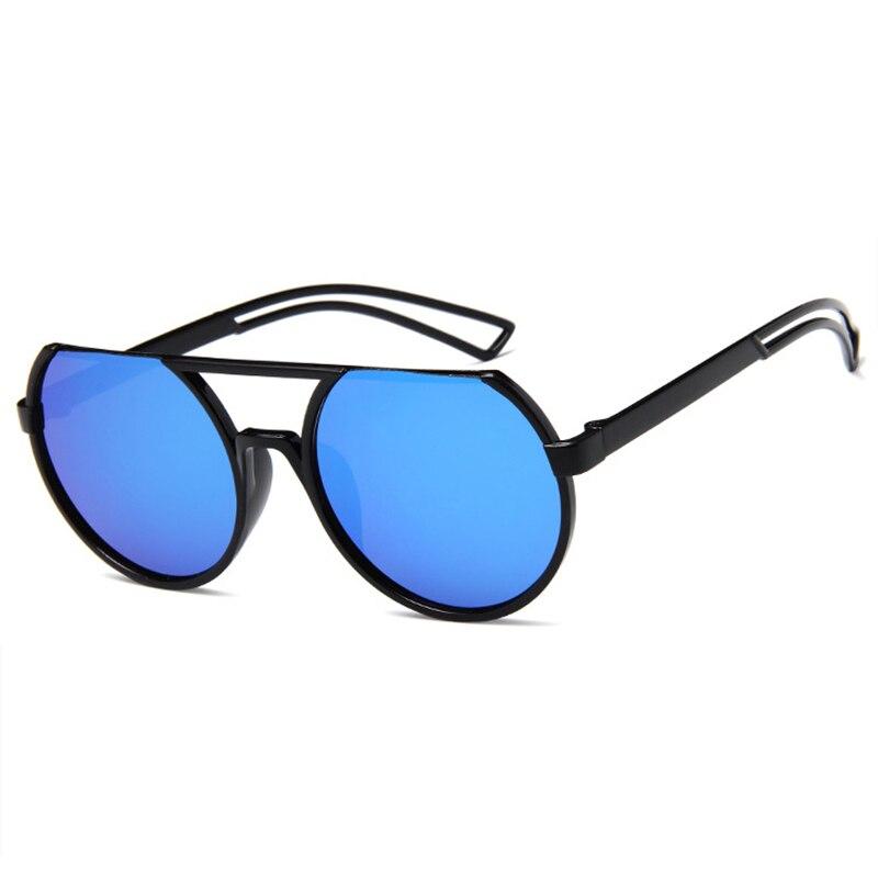 New Fashion Brand Designer Round Sunglasses 2020 Men Women Luxury Mirror Sun Glasses Classic Retro F
